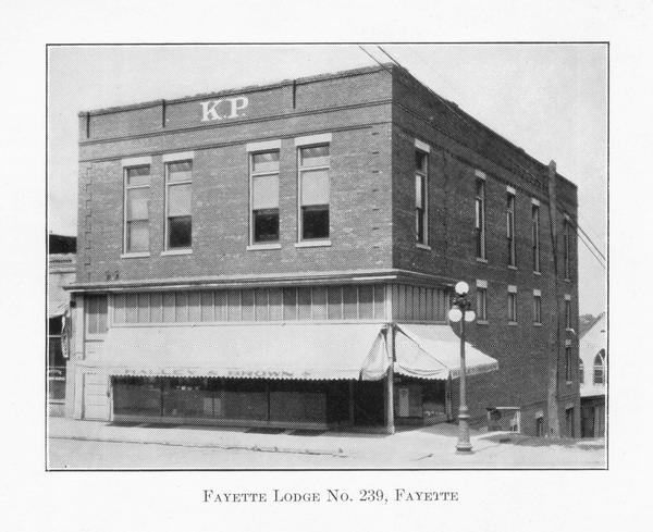 Fayette Lodge No. 239 from Fayette, MO
